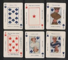 Playing cards Military Fortune Tellers 1918